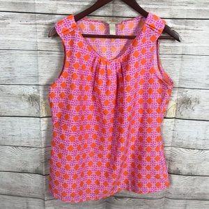 Banana republic summer sleeveless blouse